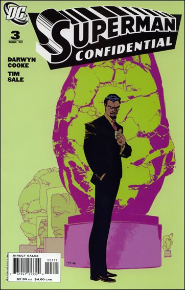 Superman Confidential 3-A by DC