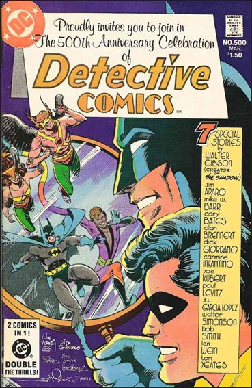 Detective Comics (1937) 500-A by DC