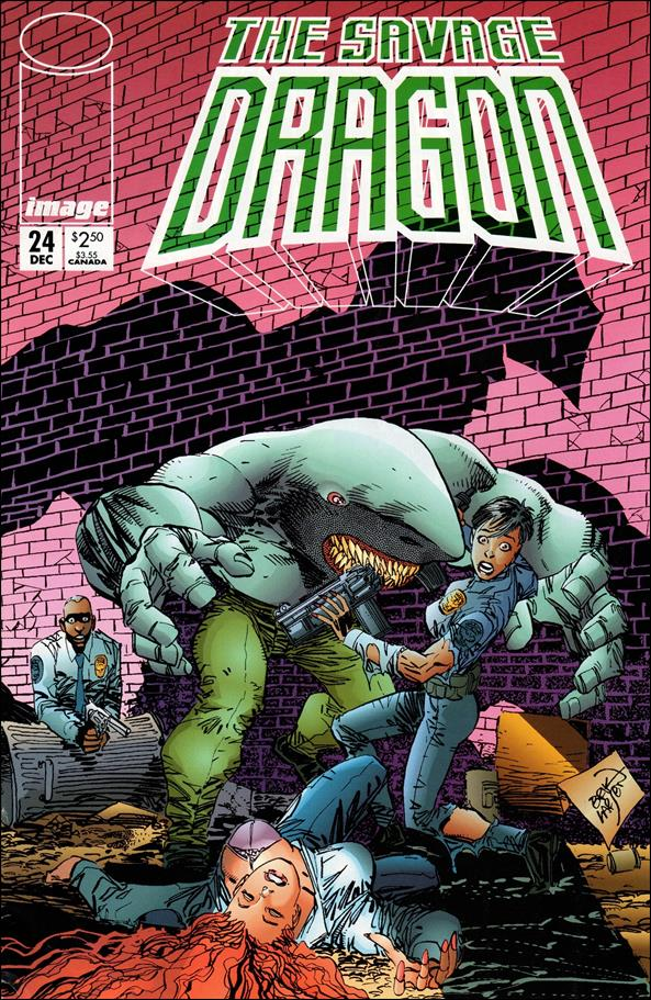 Savage Dragon (1993) 24-A by Image