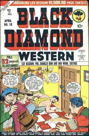 Black Diamond Western 10-A by Lev Gleason Productions