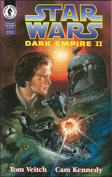 Star Wars: Dark Empire II 4-A by Dark Horse