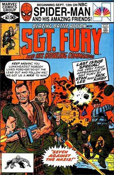 Sgt. Fury and His Howling Commandos 167-A by Marvel