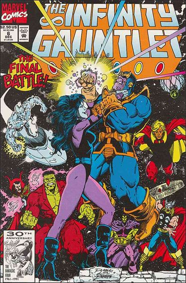 Infinity Gauntlet (1991) 6-A by Marvel