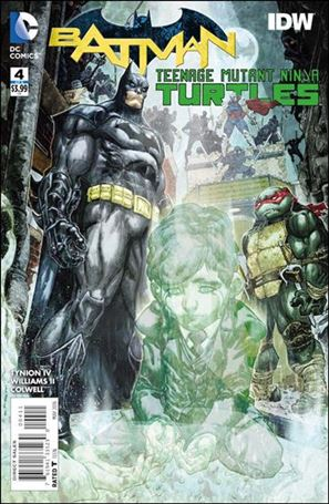 Batman/Teenage Mutant Ninja Turtles 4-A