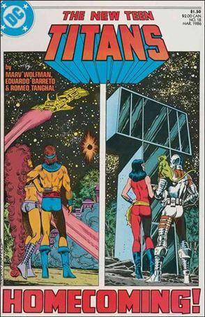 New Teen Titans (1984) 18-A