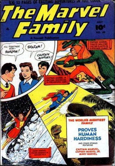 Marvel Family 49-A by Fawcett