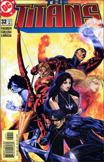 Titans (1999) 32-A by DC