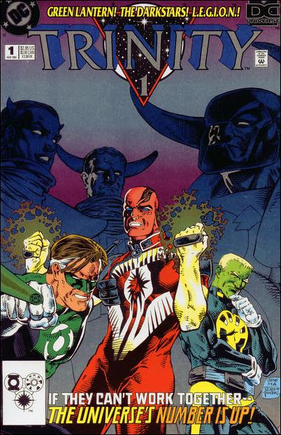 DC Universe: Trinity 1-A by DC