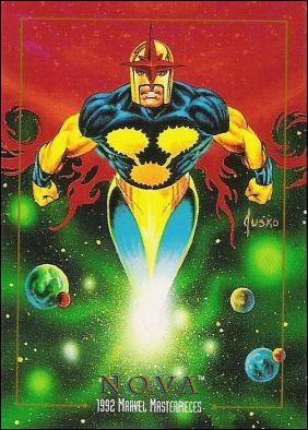 1992 Marvel Masterpieces (Base Set) 68-A by SkyBox
