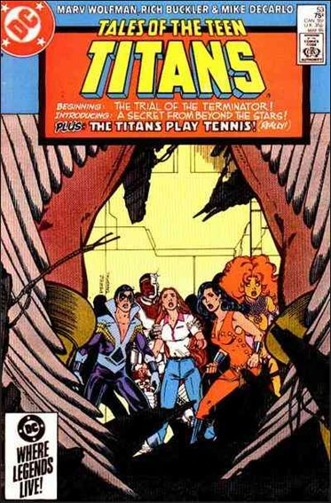 Tales of the Teen Titans 53-A by DC