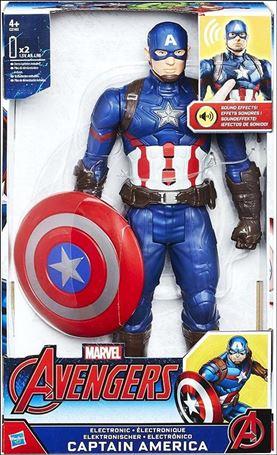 Marvel Titan Hero Series Electronic Captain America (Avengers)