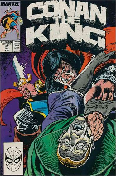 Conan the King 47-A by Marvel