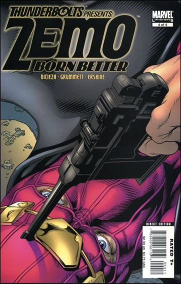 Thunderbolts Presents: Zemo - Born Better 4-A by Marvel
