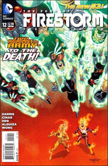 Fury of Firestorm: The Nuclear Men 12-A by DC