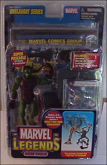 Marvel Legends (Onslaught Series) Green Goblin (Masked) by Toy Biz