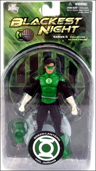 Blackest Night (Series 6) Green Lantern Hal Jordan by DC Direct