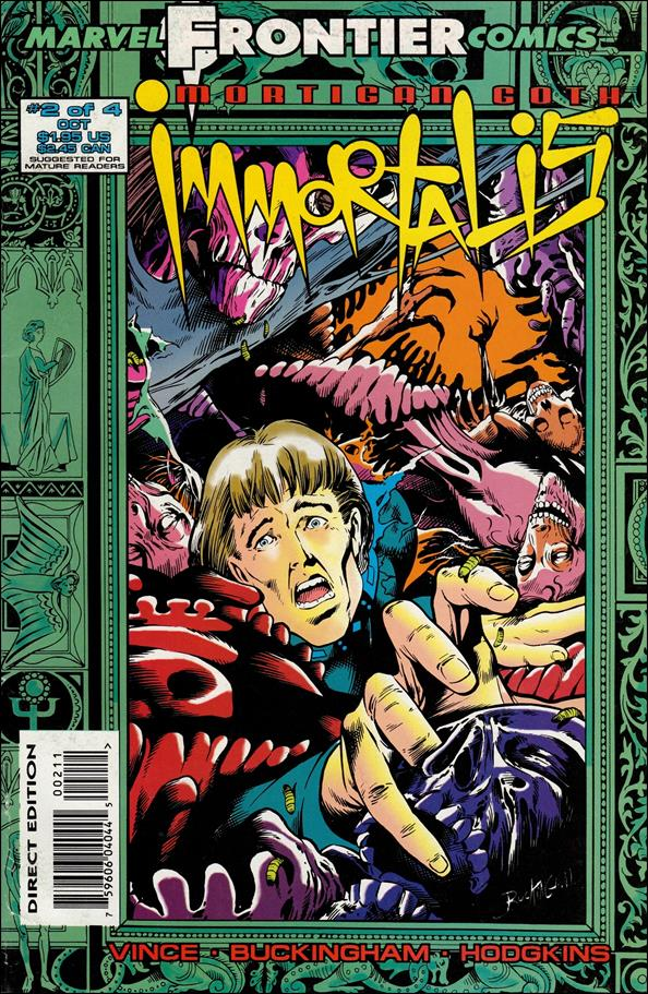 Mortigan Goth: Immortalis (UK) 2-A by Marvel UK