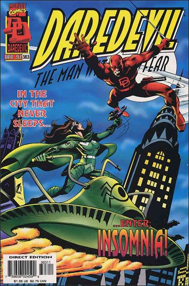 Daredevil (1964) 363-A by Marvel