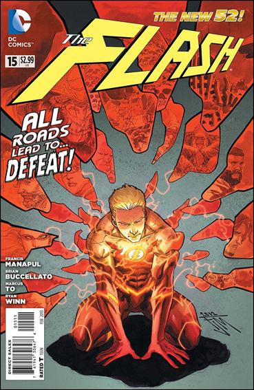 Flash (2011) 15-A by DC