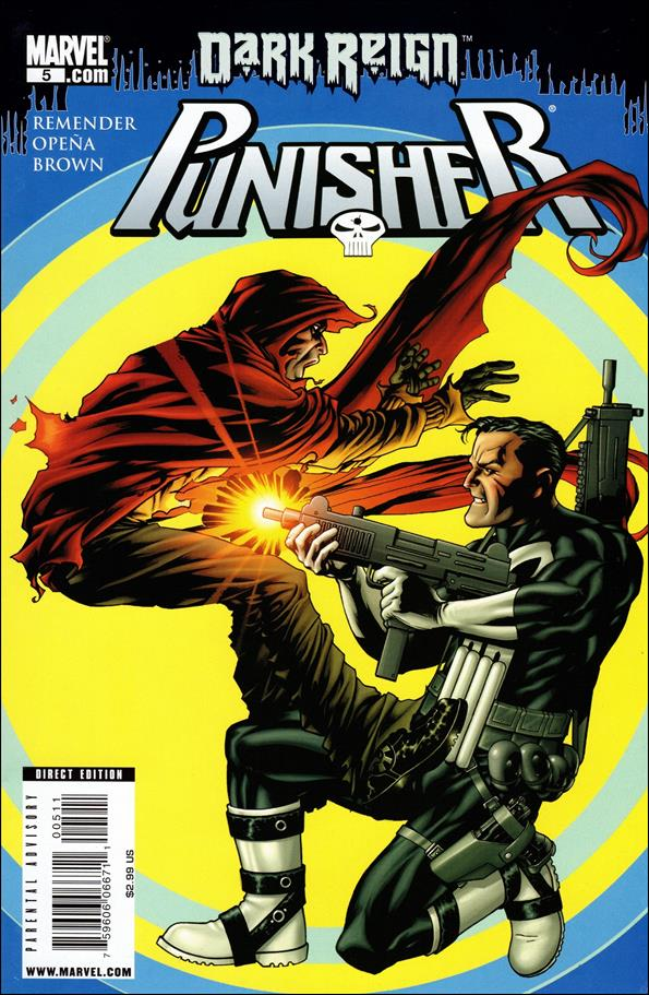 Punisher (2009) 5-A by Marvel