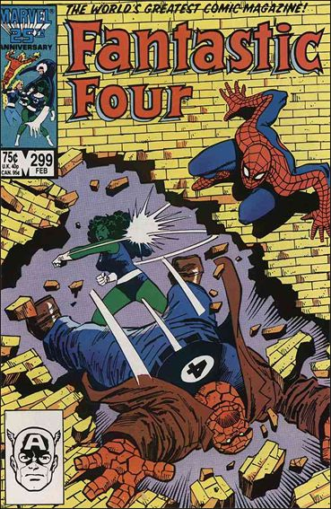 Fantastic Four (1961) 299-A by Marvel