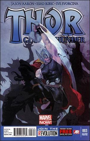 Thor: God of Thunder 3-C by Marvel