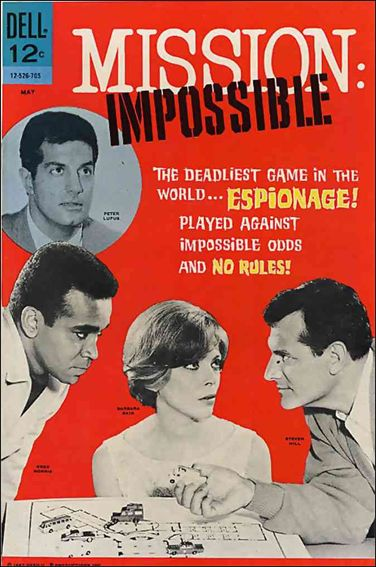 Mission: Impossible (1967) 1-A by Dell