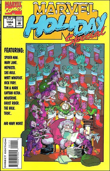 Marvel Holiday Special 1994-A by Marvel