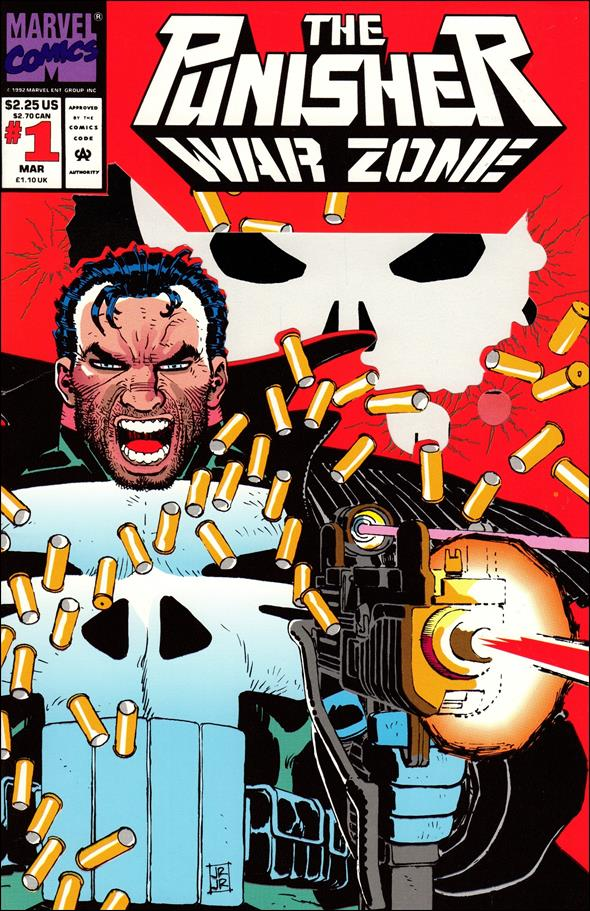 Punisher: War Zone (1992) 1-A by Marvel