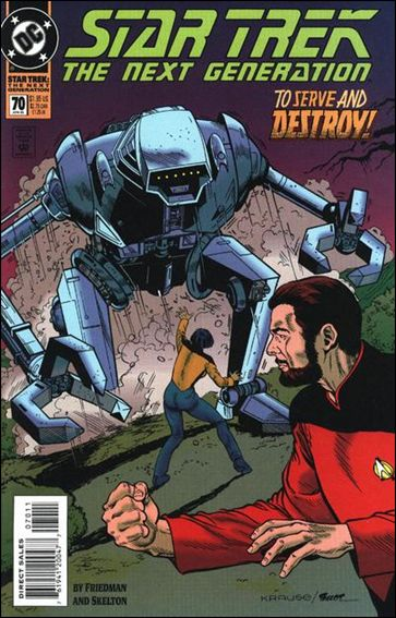 Star Trek: The Next Generation (1989) 70-A by DC
