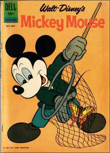 Walt Disney's Mickey Mouse 84-A by Dell