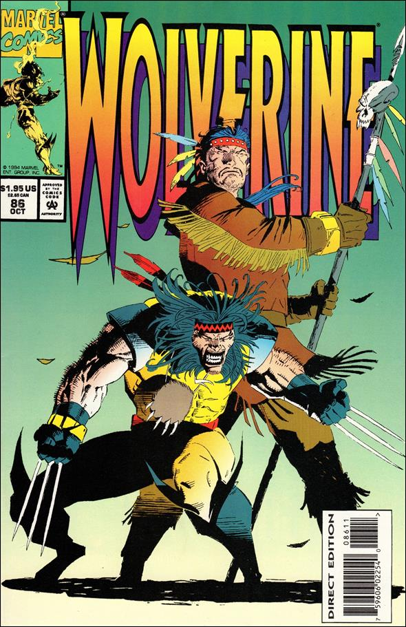 Wolverine (1988)  86-A by Marvel