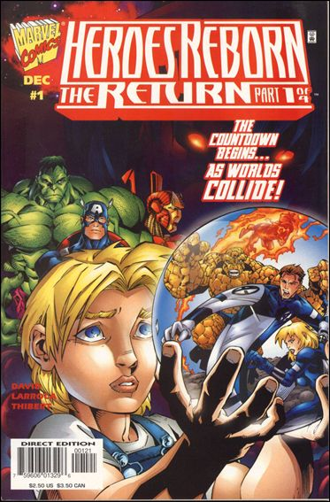 Heroes Reborn: The Return 1-B by Marvel