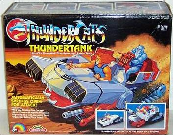 Live Action Thundercats on Thundercats Vehicles And Access    Thundertank  Jan 1985 Action Figure