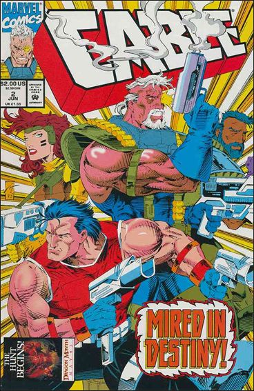 Cable (1993) 2-A by Marvel