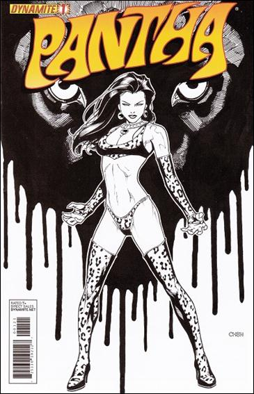 Pantha 1-D by Dynamite Entertainment