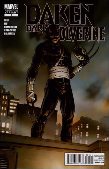 Daken: Dark Wolverine 1-D by Marvel