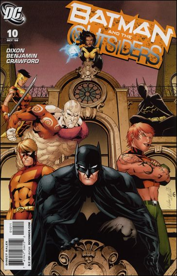 Batman and the Outsiders (2007) 10-A by DC