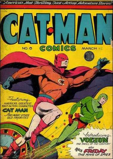 Catman Comics 8-A by Holyoke