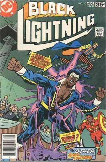Black Lightning (1977) 10-A by DC