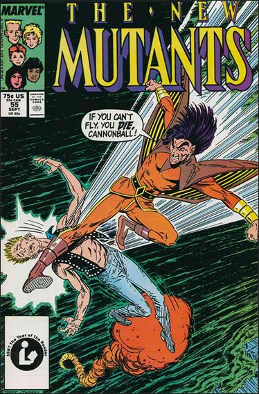 New Mutants (1983) 55-A by Marvel