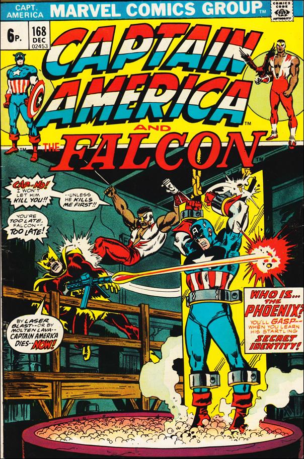 Captain America (1968) 168-B by Marvel