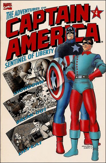 Adventures of Captain America - Sentinel of Liberty 4-A by Marvel