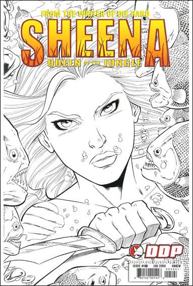 Sheena, Queen of the Jungle 5-D by Devil's Due