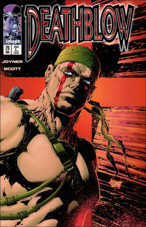 Deathblow (1993) 29-A by Image