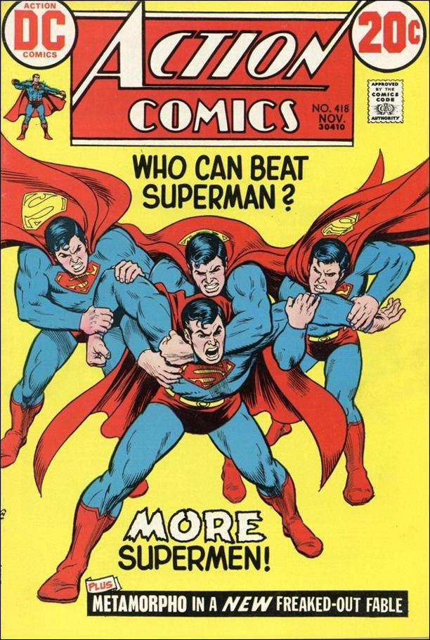 Action Comics (1938) 418-A by DC