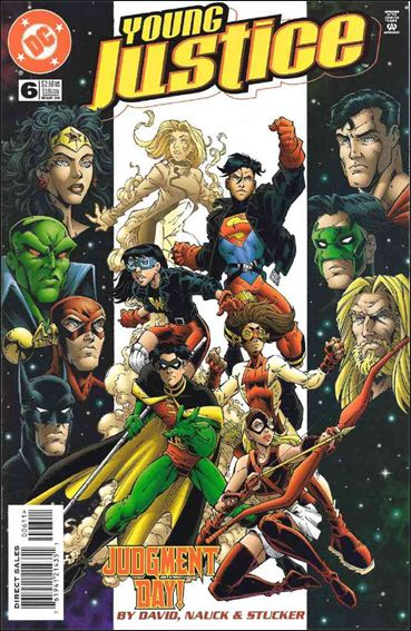 Young Justice (1998) 6-A by DC
