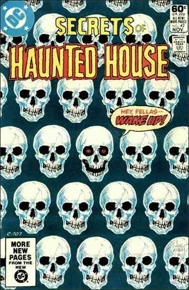 Secrets of Haunted House 42-A by DC