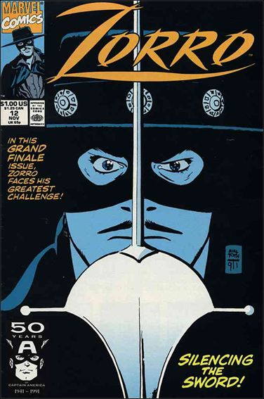 Zorro (1990) 12-A by Marvel