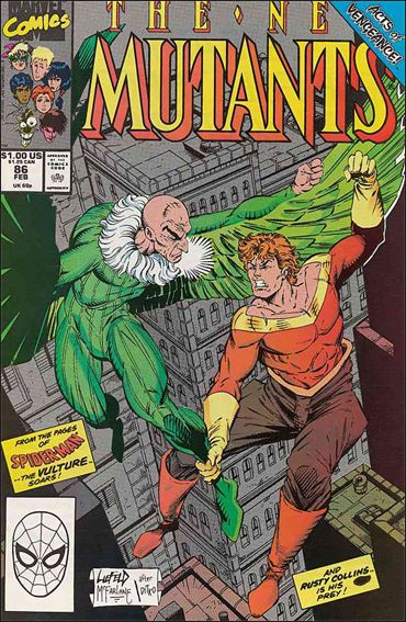 New Mutants (1983) 86-A by Marvel